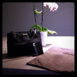 kate spade Bags - Kate Spade Black Nylon Satchel